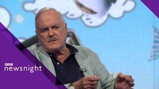 John Cleese on Brexit, newspapers and why he\'s leaving the UK - BBC Newsnight