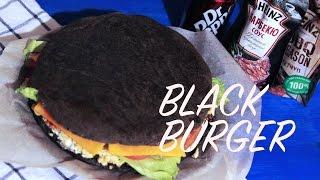 Черный бургер/Black Burger/Черный бургер-торт/Рецепт чёрного бургера