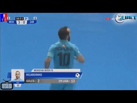 Jogo Completo  Inter Movistar 4 x 0 Zaragoza - 26ª Rodada Liga Espanhola de Futsal 2017/2018