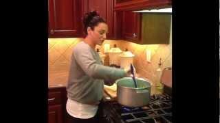 Kim Pirrella Cooking Vlog #10 String Beans N Potatoes