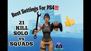 Best Fortnite Settings + Sensitivity 2019 for PS4 XBox 21 solo vs squads
