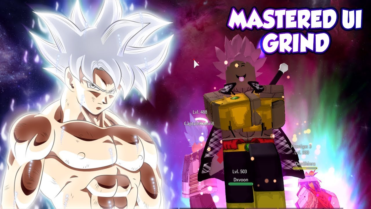 Mastered Ultra Instinct is COMING SOON| Prestige 2 Grind in Dragon Ball Z  Final Stand | Roblox