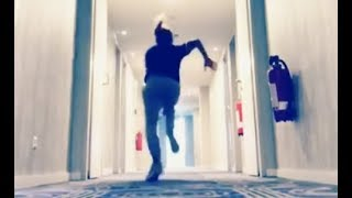 6ix9ine Runs A 4:3 In Hallway Proves He's The Fastest Rapper In The Game