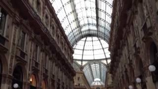 【ミラノ】ヴィットーリオ・エマヌエーレ2世のガッレリア