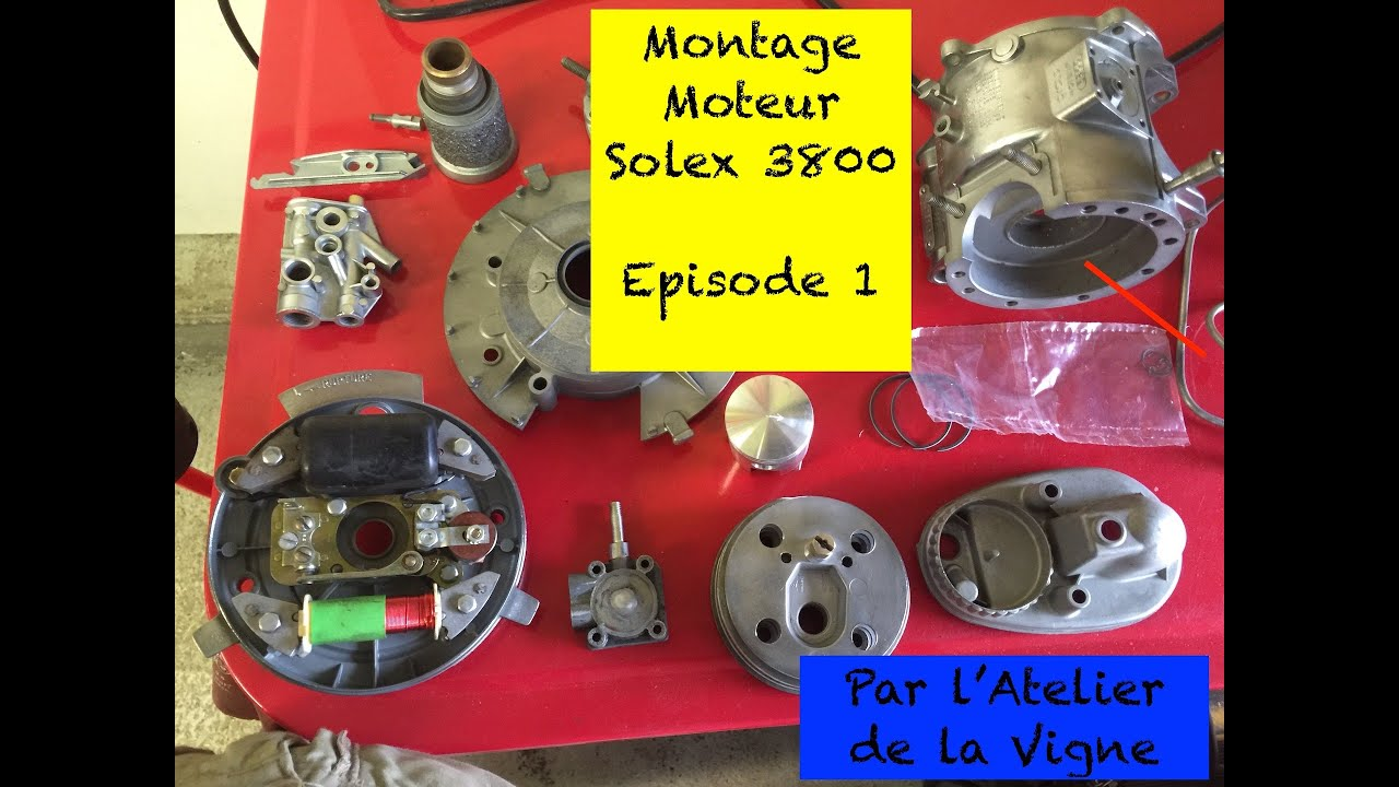 Download Solex 3800 : remontage moteur - partie 1