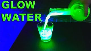 How to Make Fluorescent Water (UV Reactive) - By STE