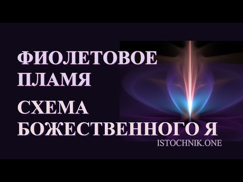 Фиолетовое Пламя | Схема Божественного Я