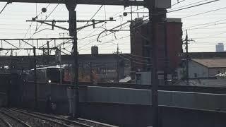 [謎の8両回送‼️7同士の連結‼️]名鉄3300系 3307f+名鉄3500系 更新車 3507f改(回送)上小田井駅  到着‼️