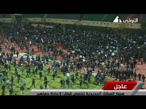 At least 74 killed in Port Said football tragedy - no comment