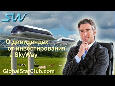 О дивидендах от инвестирования в SkyWay