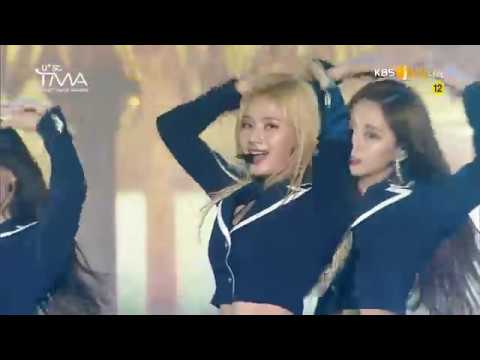 190424 트와이스 TWICE - YES Or YES + Dance The Night Away @ The Fact Music Awards