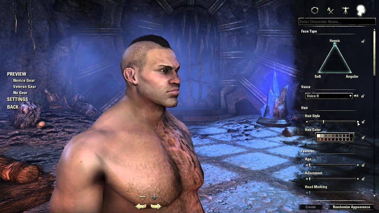 The Elder Scrolls Online: Character Creation - Redguard ... Play Elder Scrolls Redguard Online