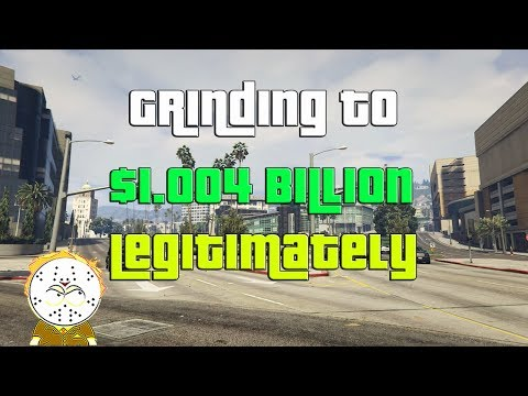 GTA Online Grinding To $1.004 Billion Legitimately And Helping Subs
