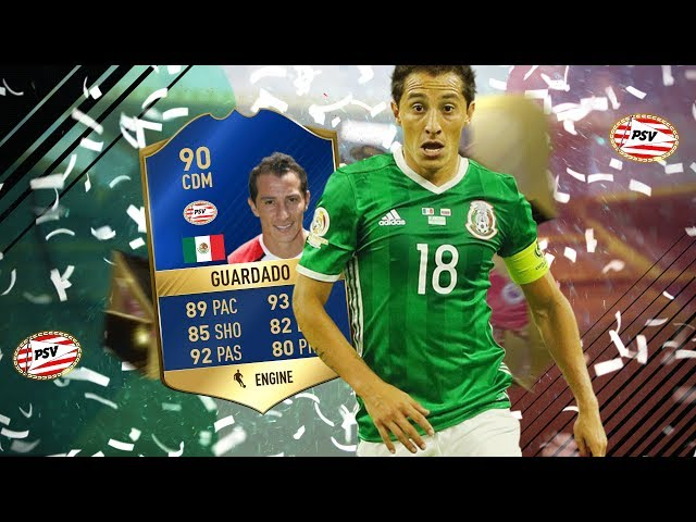 FIFA 17 - 90 TOTS GUARDADO PLAYER REVIEW! A NEW MEMBER OF THE GULLIT GANG!