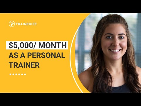 This Personal Trainer Earns $5000/MONTH Online! How to Make More Money As Trainer (FROM HOME!)