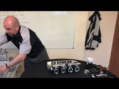 Specialist Components  A Series 7 port cylinder heads