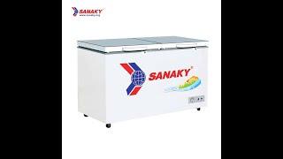 [Tủ đông kính cường lực] Tủ đông Sanaky VH-3699A2KD | Tủ Sanaky 1 ngăn đông 2 cánh mở