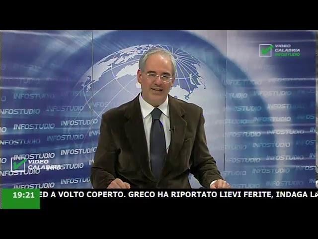 InfoStudio il telegiornale della Calabria notizie e approfondimenti - 25 Dicembre ore 19.15