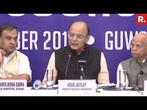 GST Briefing With Arun Jaitley