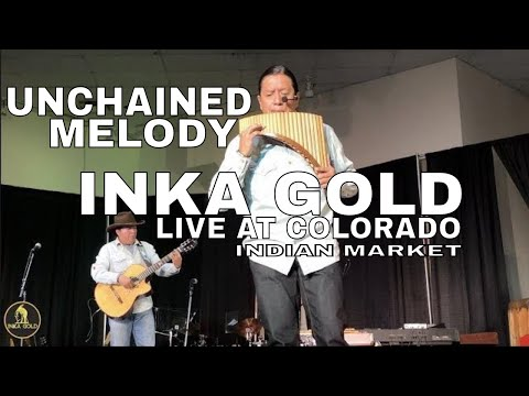 UNCHAINED MELODY | INKA GOLD (Live) at COLORADO INDIAN MARKET