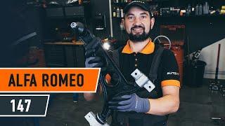 Как се сменят Датчик износване накладки на ALFA ROMEO 147 (937) - онлайн безплатно видео