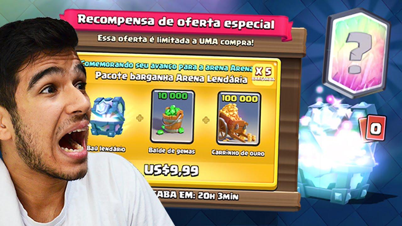 b328070c5 COMPREI A MELHOR OFERTA DA LOJA E CONSEGUI 2 CARTAS LENDÁRIAS!! CLASH  ROYALE - YouTube