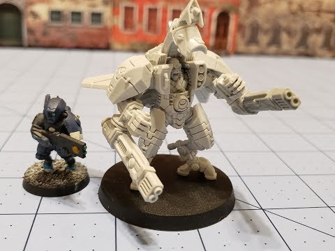Grimskull/ Wargames Exclusive: Greater Good Battlesuit
