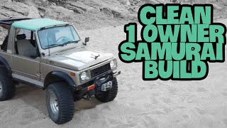 Suzuki Samurai Build 1 Owner Spring over on 33's