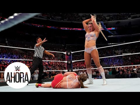 Charlotte Flair brutal con Ronda Rousey: WWE Ahora