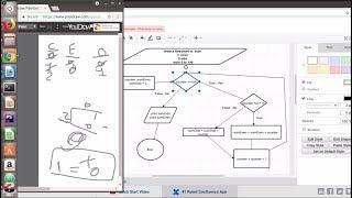 درس #5 امثله متوسطه وكيفيه عمل تكرار   Flowchart Example