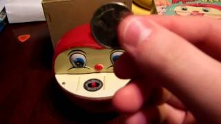 Novelty Apple Bank (Yone) - The worm gets your coin!