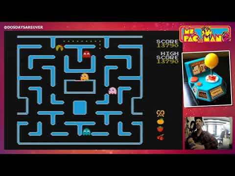 Ms. Pacman (Namco II) Plug & Play TV Game (2004) [Jakks Pacific]