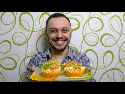 Фруктовый салат на праздничный стол - быстрый детский десерт