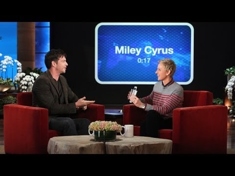 Harry Connick, Jr. And Ellen Play 'Heads Up!'