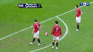 Cristiano Ronaldo & Rooney Showing Their Class In 2007