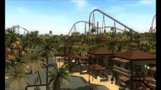[RCT3] Burj Oasis Farewell (RCT3 Park)