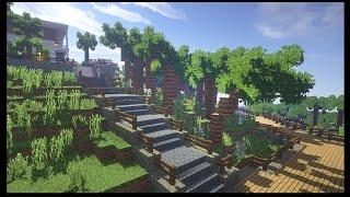 Райский остров в майнкрафт - Серия 22 - Minecraft - Строительный креатив 2