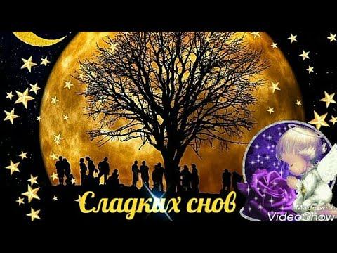 Спокойной ночи Сладких снов Sweet dreams Good night GIF ...