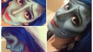 ➮ Maquillaje para Halloween: El Cadaver De La Novia (The Corpse Bride) ✞ ♡ - Miranda Ibañez