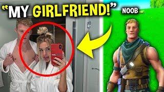Noob steals TFue's girlfriend (Noob vs Tfue)