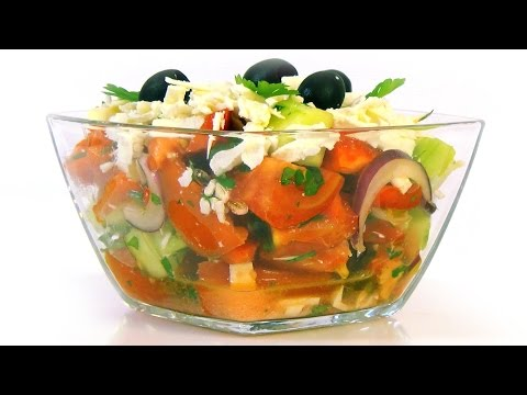 How to make French salad ♡ English subtitlesиз YouTube · Длительность: 3 мин29 с  · Просмотры: более 1381000 · отправлено: 13.05.2011 · кем отправлено: Вкусный диалог с Еленой Баженовой