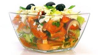 видео Шопский салат