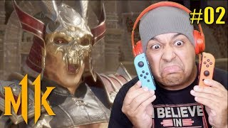 MK11 ON THE NINTENDO SWITCH IS UM....... [MK11] [#02]