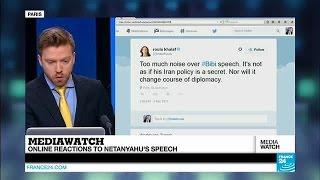 Online reactions to Netanyahu's speech to Congress
