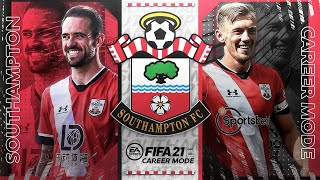 FIFA 21 Southampton Career Mode #1 - The Southampton Way