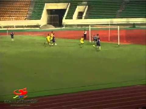 Laos 4-0 Thai league D2 all star