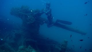 Epave sous marin Allemand U-Boat (german wreck submarine)