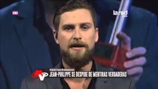 Jean-Philippe se despide de Mentiras Verdaderas