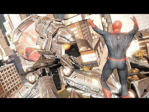The Amazing Spider-Man Giant Robot Boss Fight & Prison Escape Battles