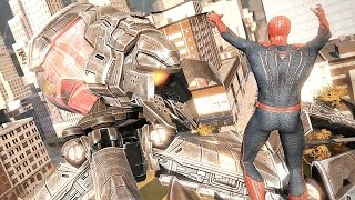The Amazing Spider-Man Giant Robot Boss Fight & Prison Escape Battles